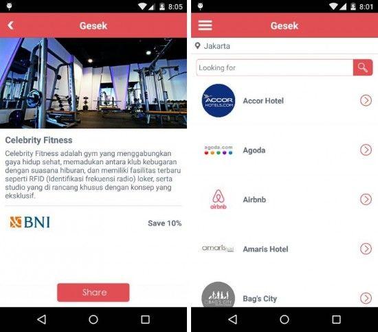 Gesek 8211 Cara Praktis Mencari Promo Kartu Kredit Dengan Android Http Www Aplikanologi Com P 32211