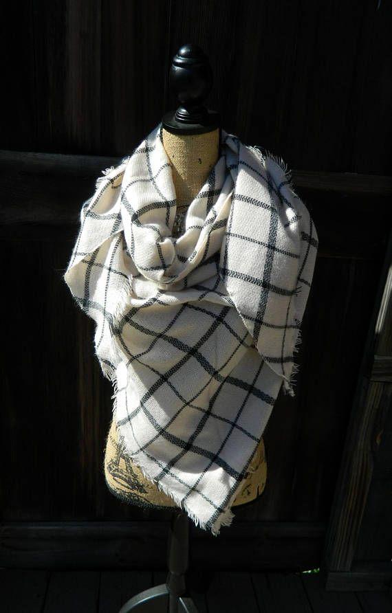 ab56dd6b1 Blanket Scarf Plaid Infinity Scarf Infinity Blanket Scarf   Great ...