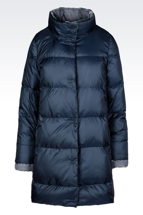 Armani Collezioni Women Dust Jacket - DOWN JACKET IN TECHNICAL FABRIC Armani Collezioni Official Online Store