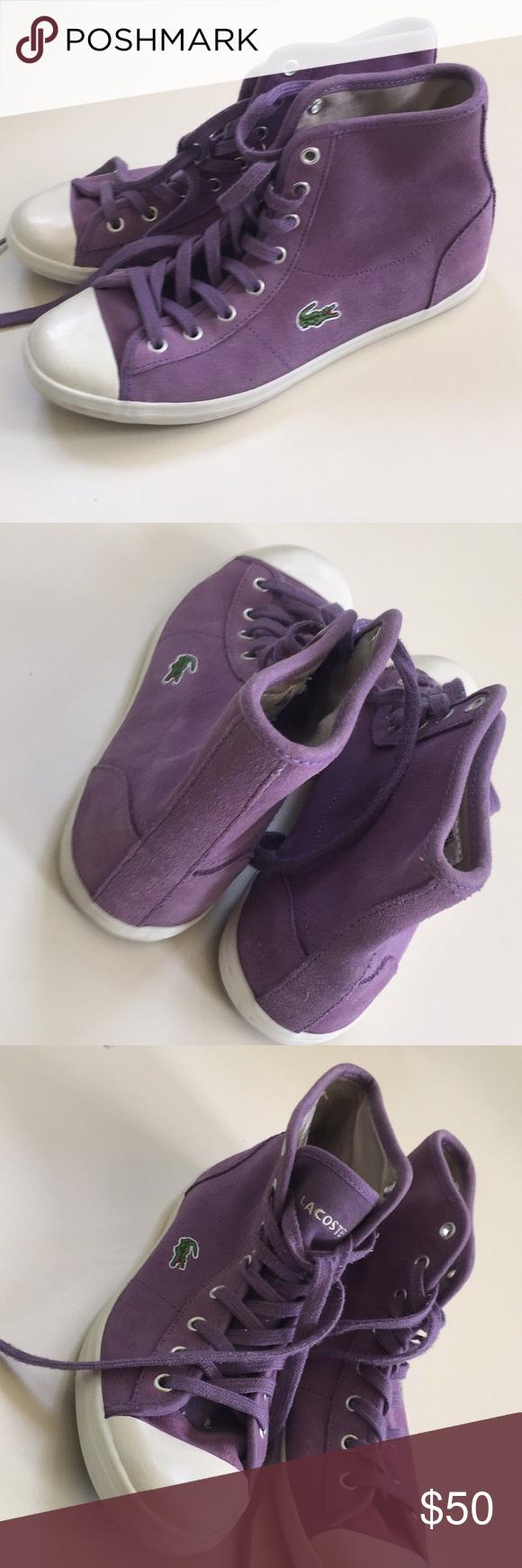 Lacoste suede shoes   Suede shoes