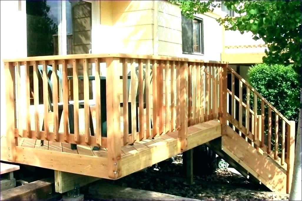 design for vertical baluster wood outdoor railing - Google ...