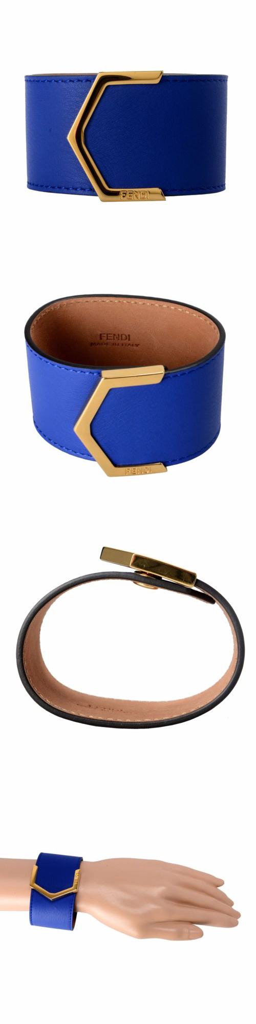 Other unisex accessories fendi leather blue button