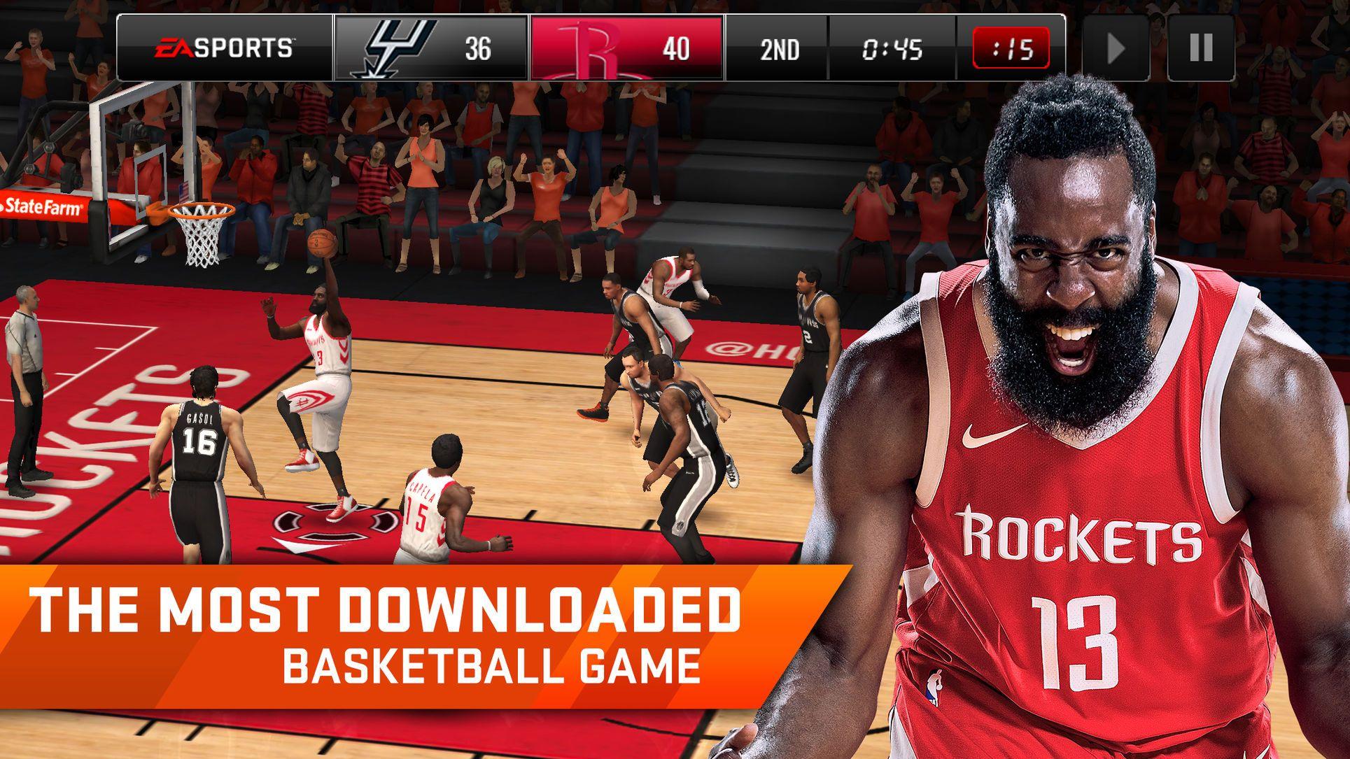 Nba Live Mobile Basketball Games Arts Sports Ios Nba Live Mobile Hack Nba Live Basketball Games Online