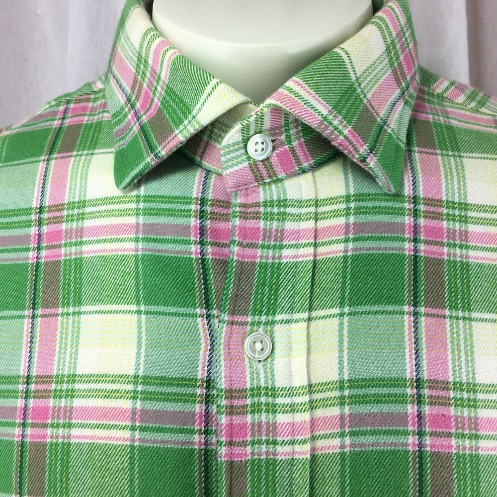Polo Ralph Lauren Regent Custom Fit Plaid Flannel Shirt