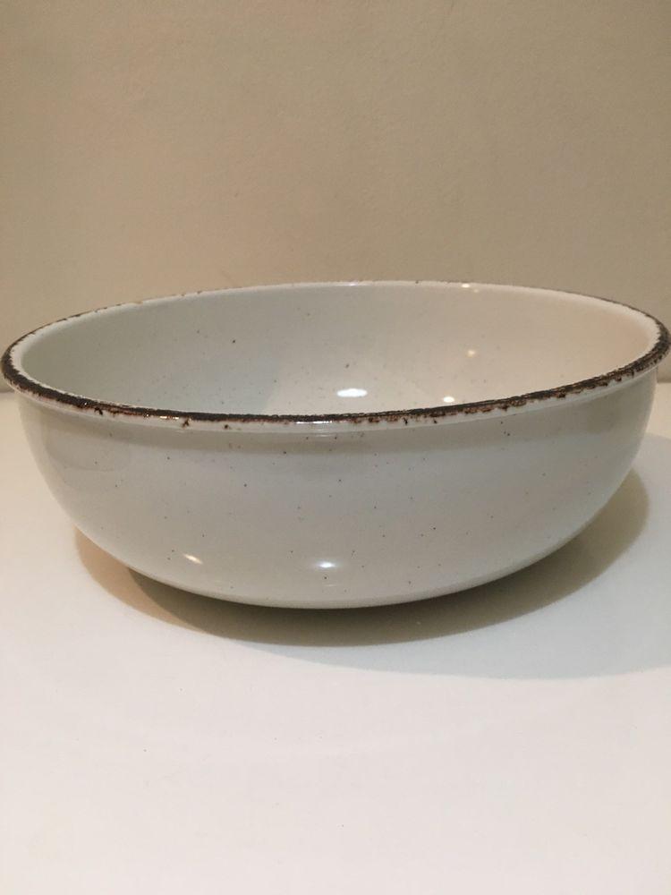 Vintage Mid Winter Serving Bowl