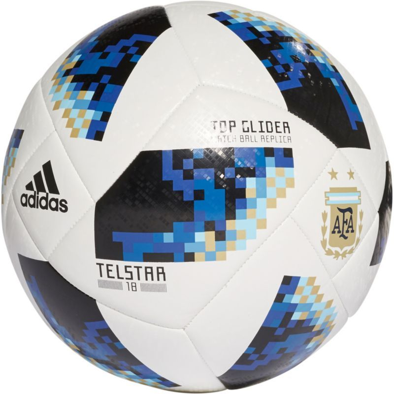 separation shoes 5a339 26ad9 adidas 2018 Fifa World Cup Russia Argentina Supporters Glider Soccer Ball,  White