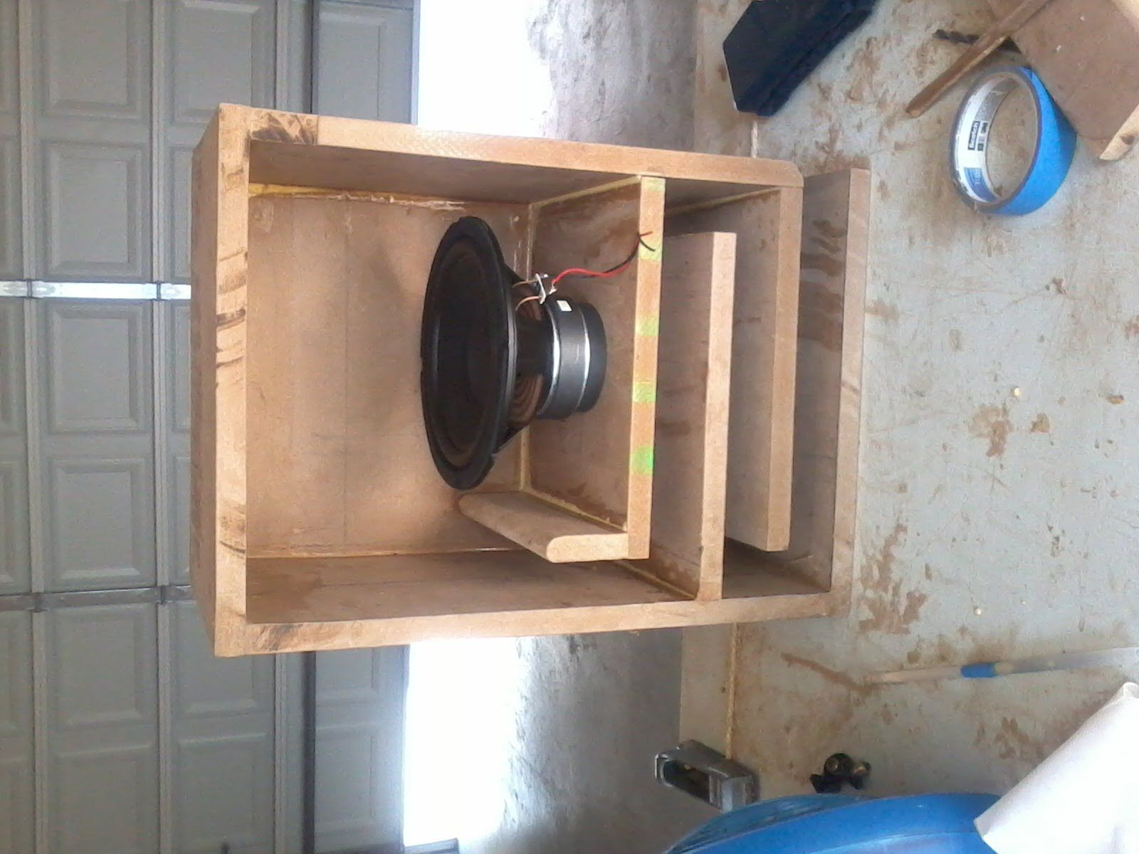 8 lline subwoofer box wood speakers ideas pinterest