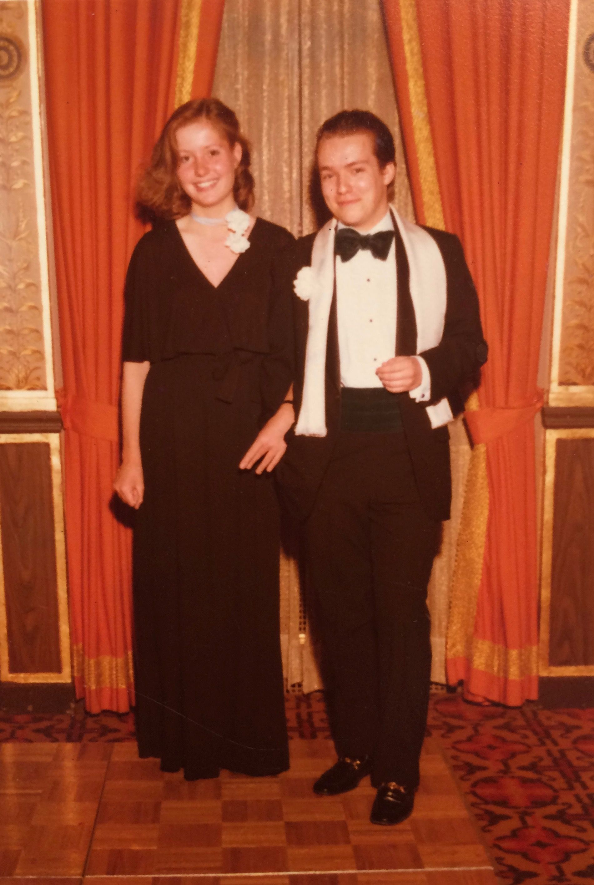 Moi, Prom night, New York 1978. Butch, as always