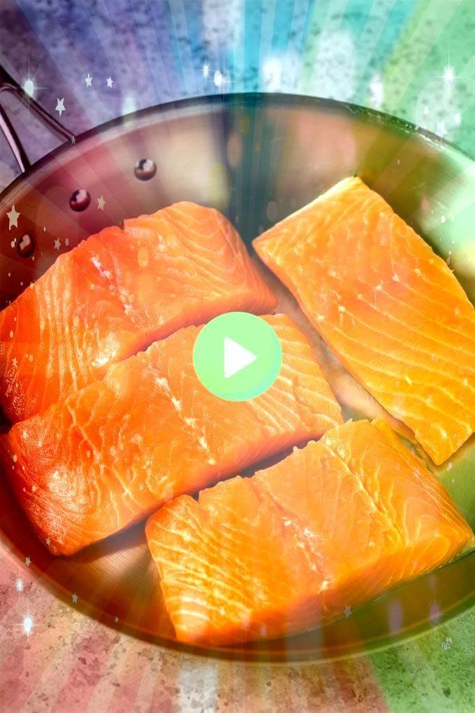 Photo of #searedsalmonrecipes #dinneratthezoo #lowcarb #seared #salmon