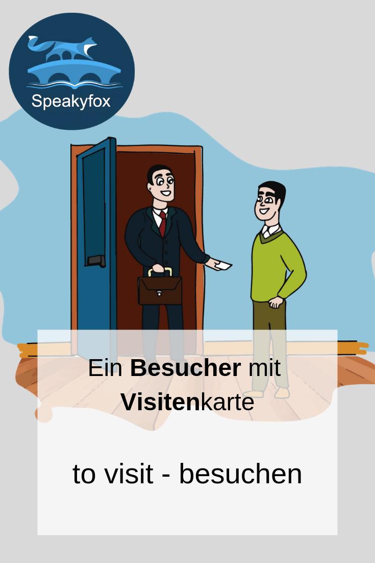 Englisches Wort To Visit Deutsche übersetzung Besuchen