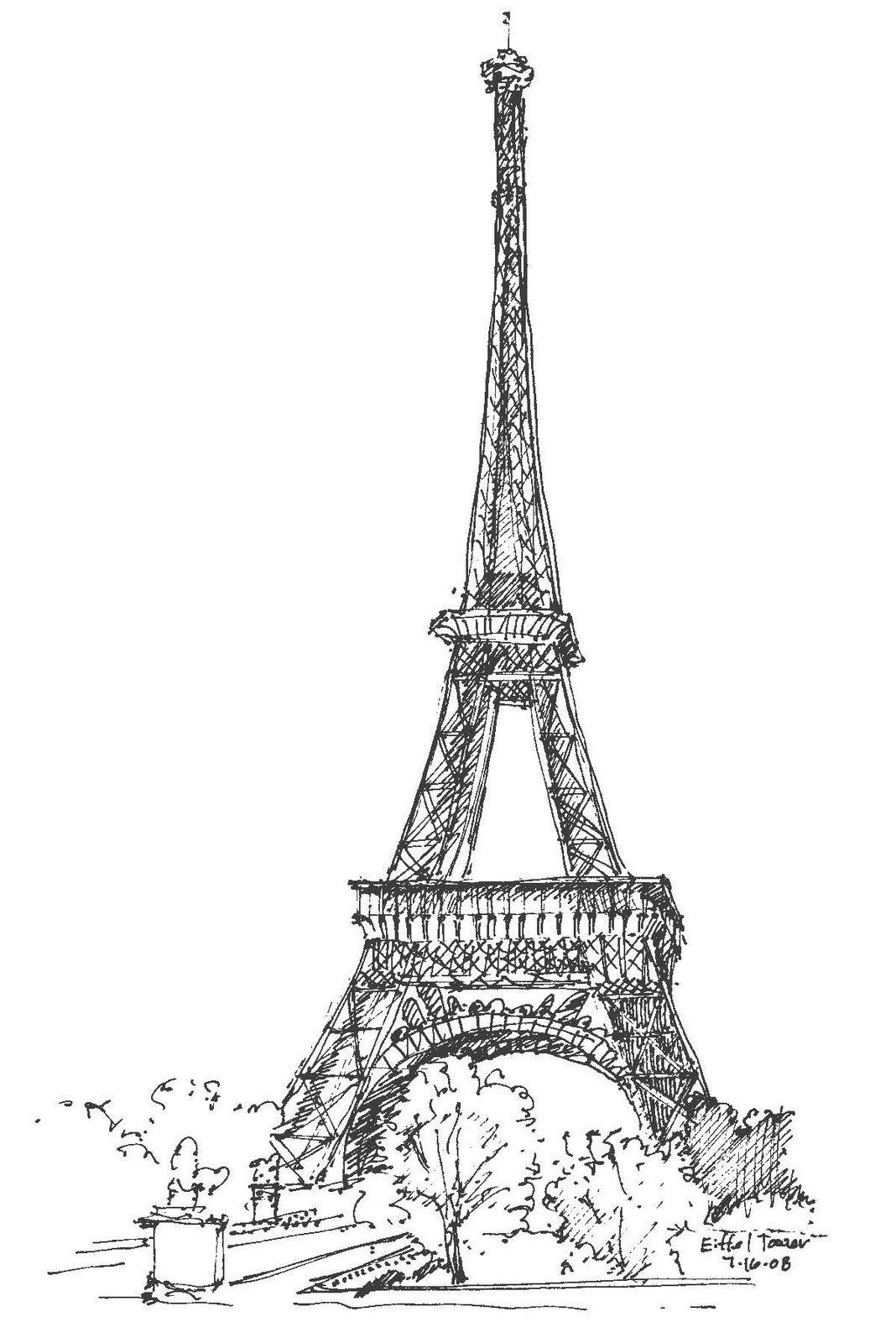 соорудить эйфелева башня картинки нарисованы карандашом чадо будет
