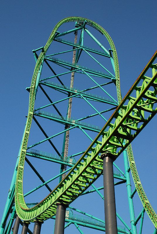 Kingda Ka Six Flags Great Adventure Jackson New Jersey Usa Six Flags Great Adventure Roller Coaster Amusement Park Rides