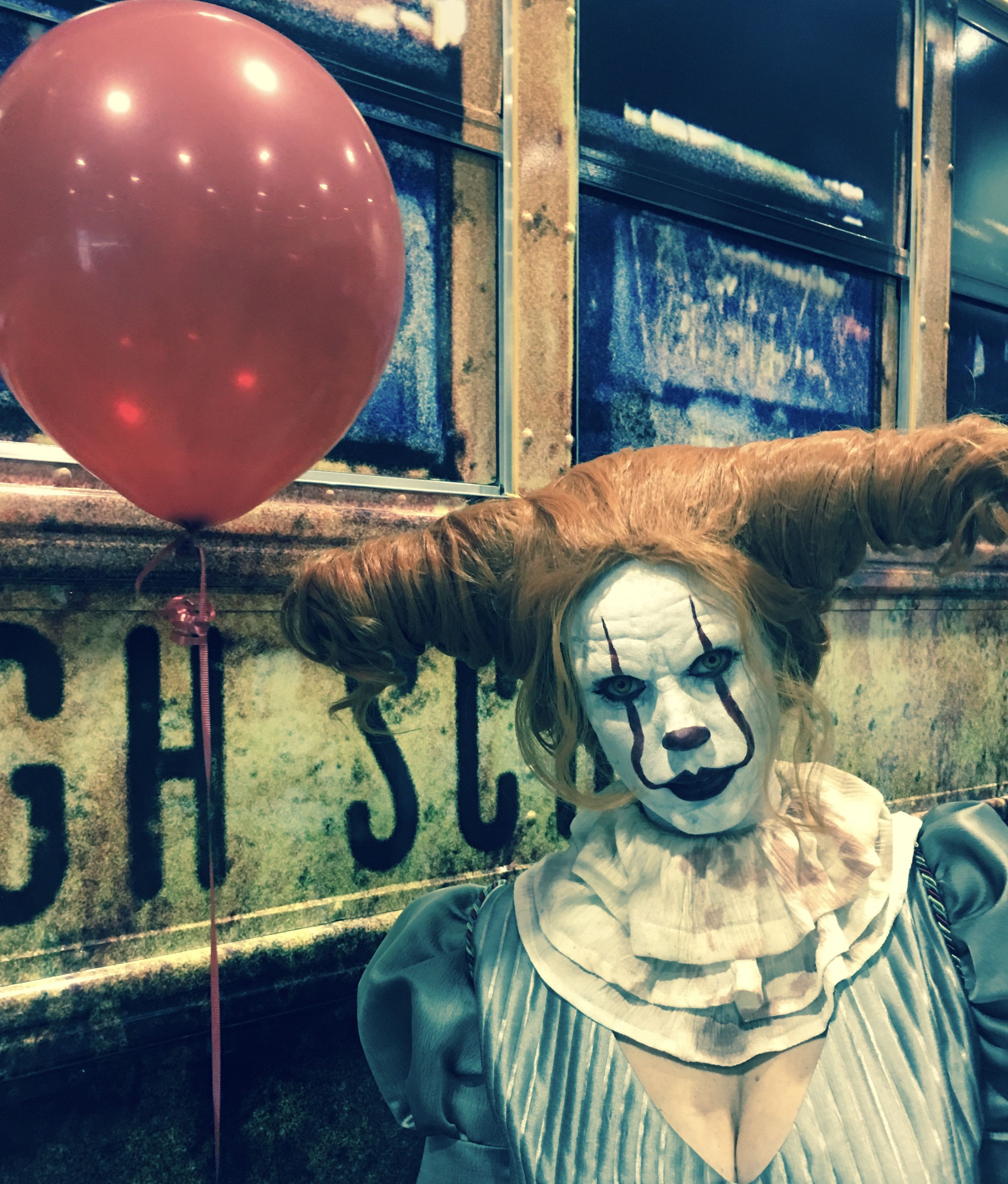 Pennywise costume Pennywise halloween costume, 2017