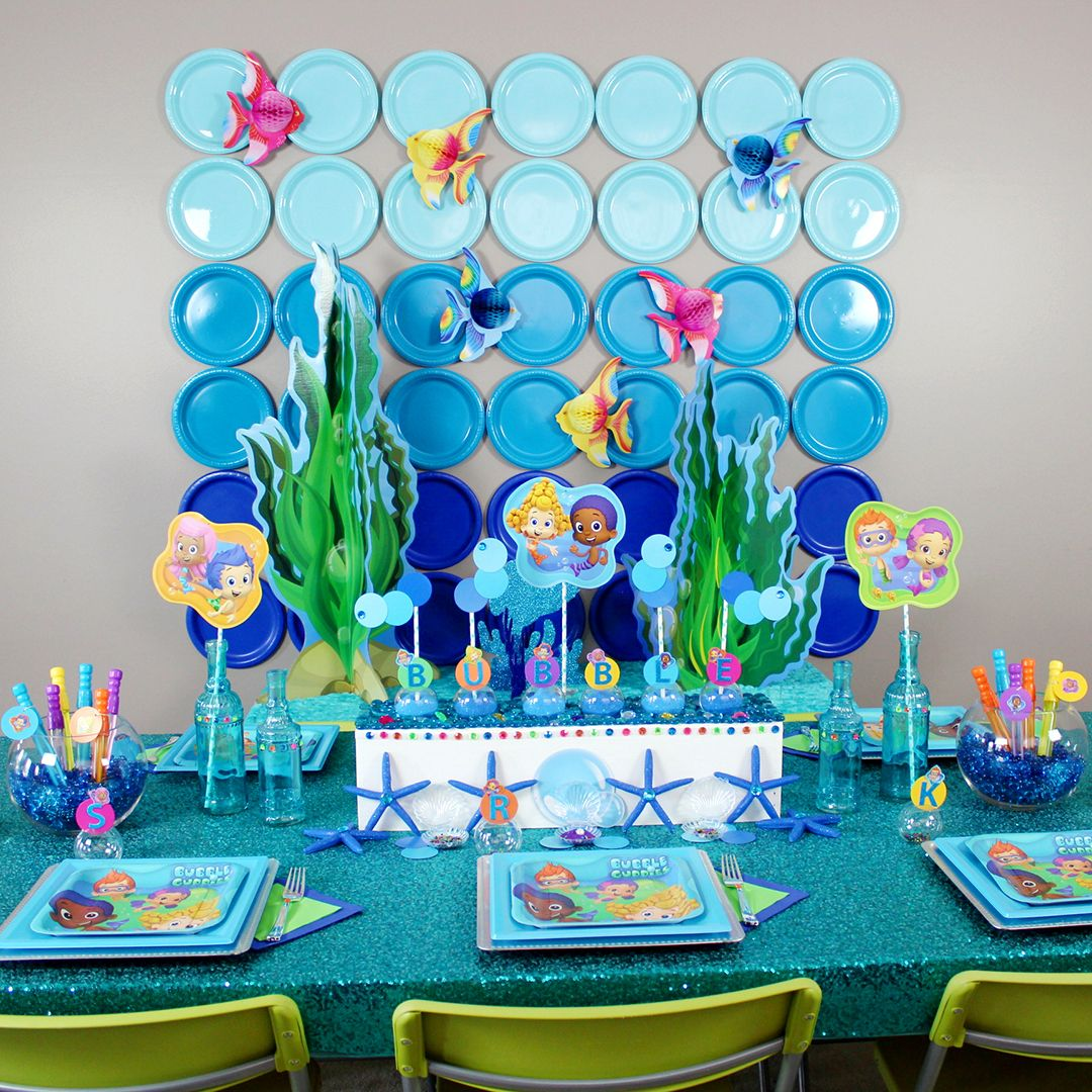 Bubble Guppies DIY Party Ideas | Pinterest | Bubble guppies party ...