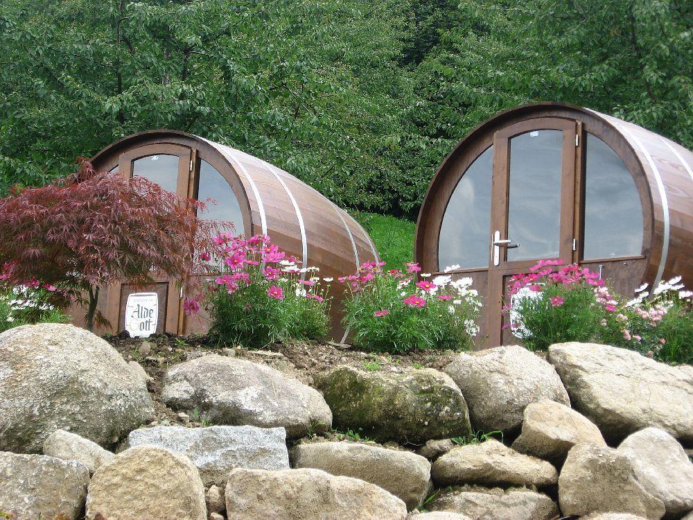 Schlafen im Weinfass - Schwarzwald, wow wow ... das ist bestimmt ...