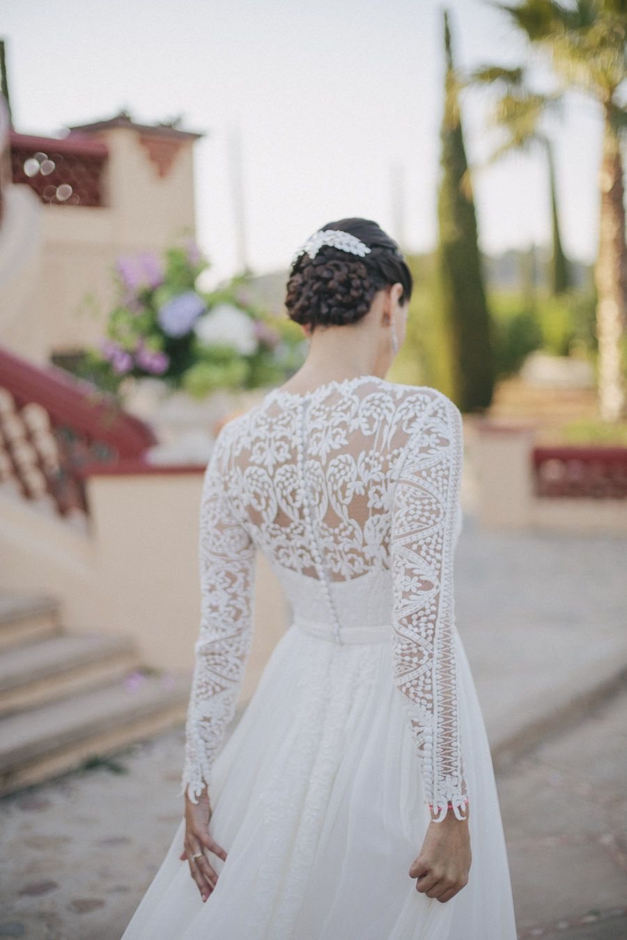 A Beautiful Uk Destination Wedding In Spain Braided Wedding