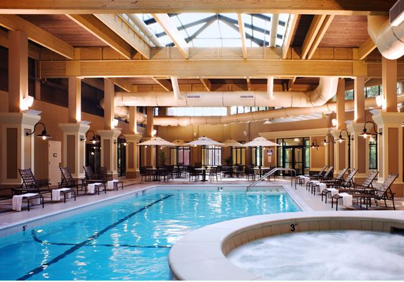 Four Points By Sheraton Norwood A Full Two Stories High The Elegant Solarium Is A Welcome