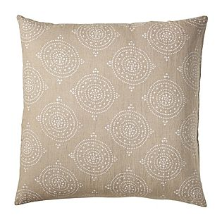 Ooooh I love this and no annoying flanges to get wrinkled: Lune Linen Euro Sham #serenaandlily