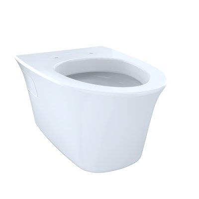 Toto Maris 1 6 Gpf Elongated Toilet Bowl Wall Mounted Toilet Wall Hung Toilet Toilet Bowl