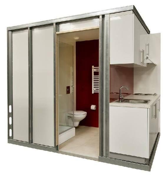 Modular kitchen pods google search cento giardini for Prefab units