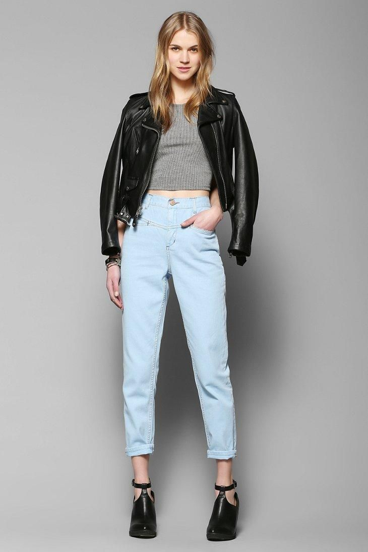 BDG Seamed Mom Jean - Stratus #urbanoutfitters