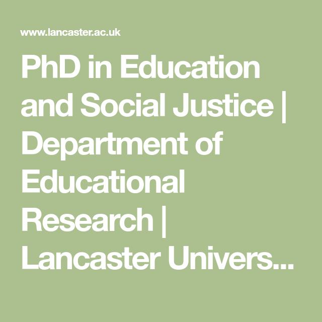 Phd thesis social development