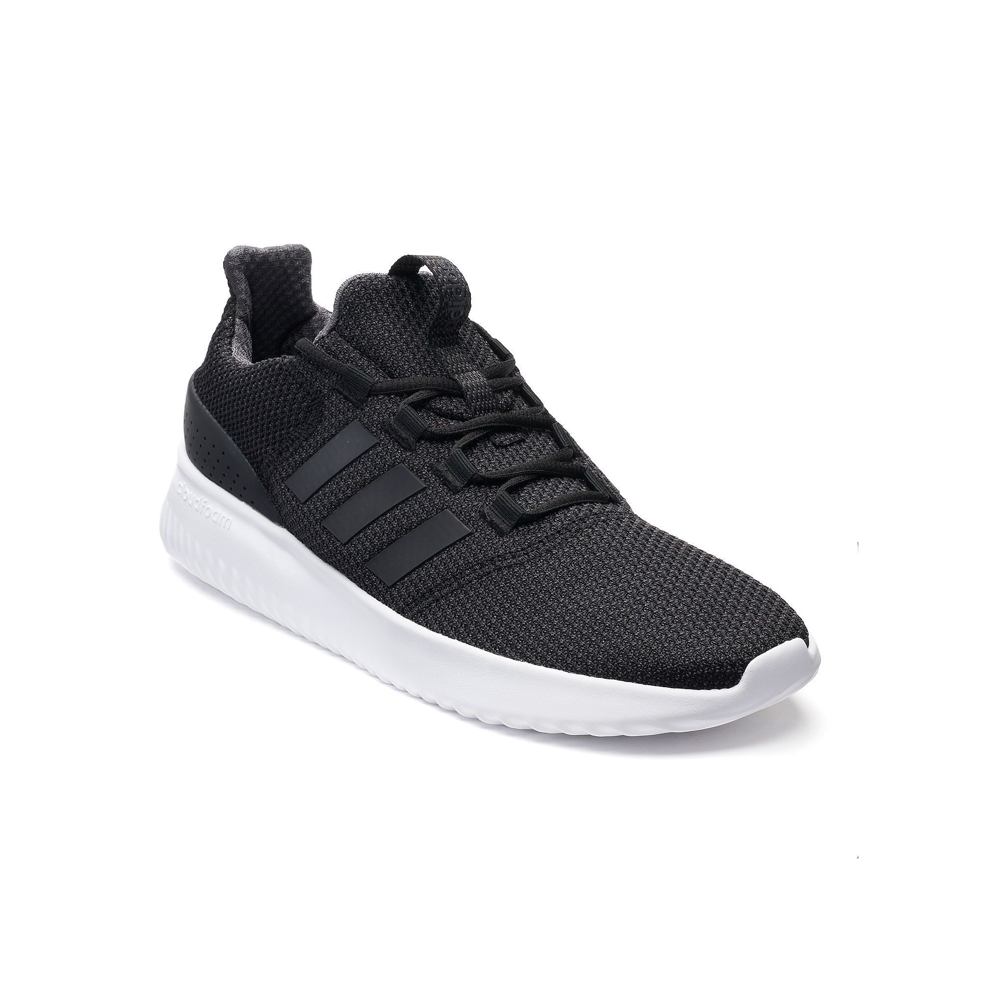Pure White And Translucence adidas Baseline Mens Sneakers Black