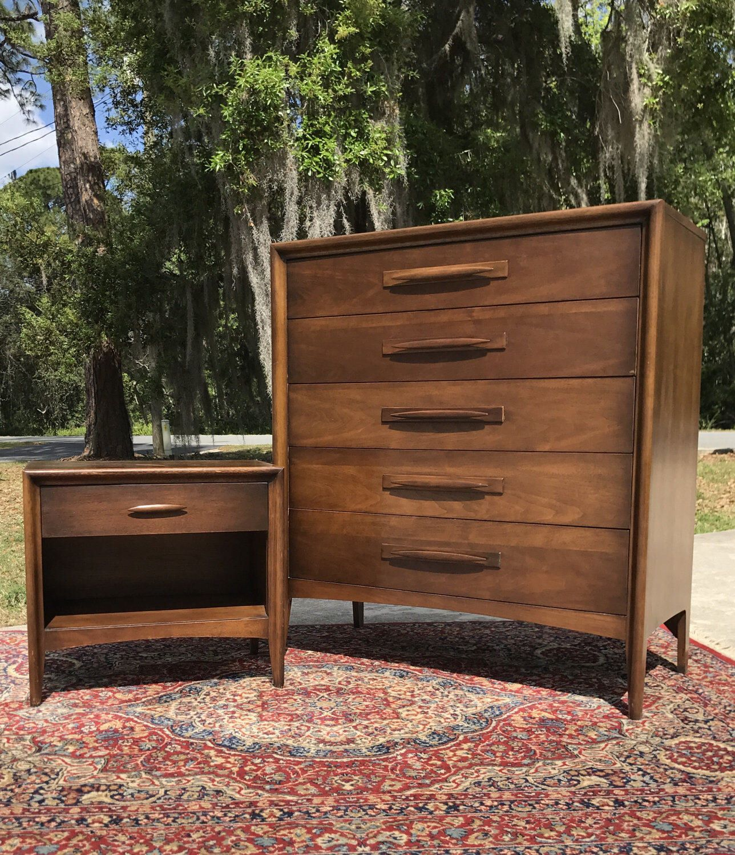 Vintage Mid Century Modern Broyhill Premier Emphasis Bedroom Set: NO  SHIPPING By HautelAudubon On Etsy