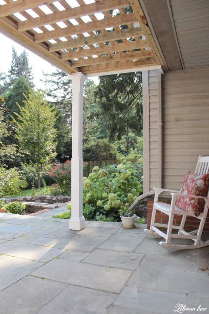 Front Porch Pergola for our Farmhouse Lehman Lane (With