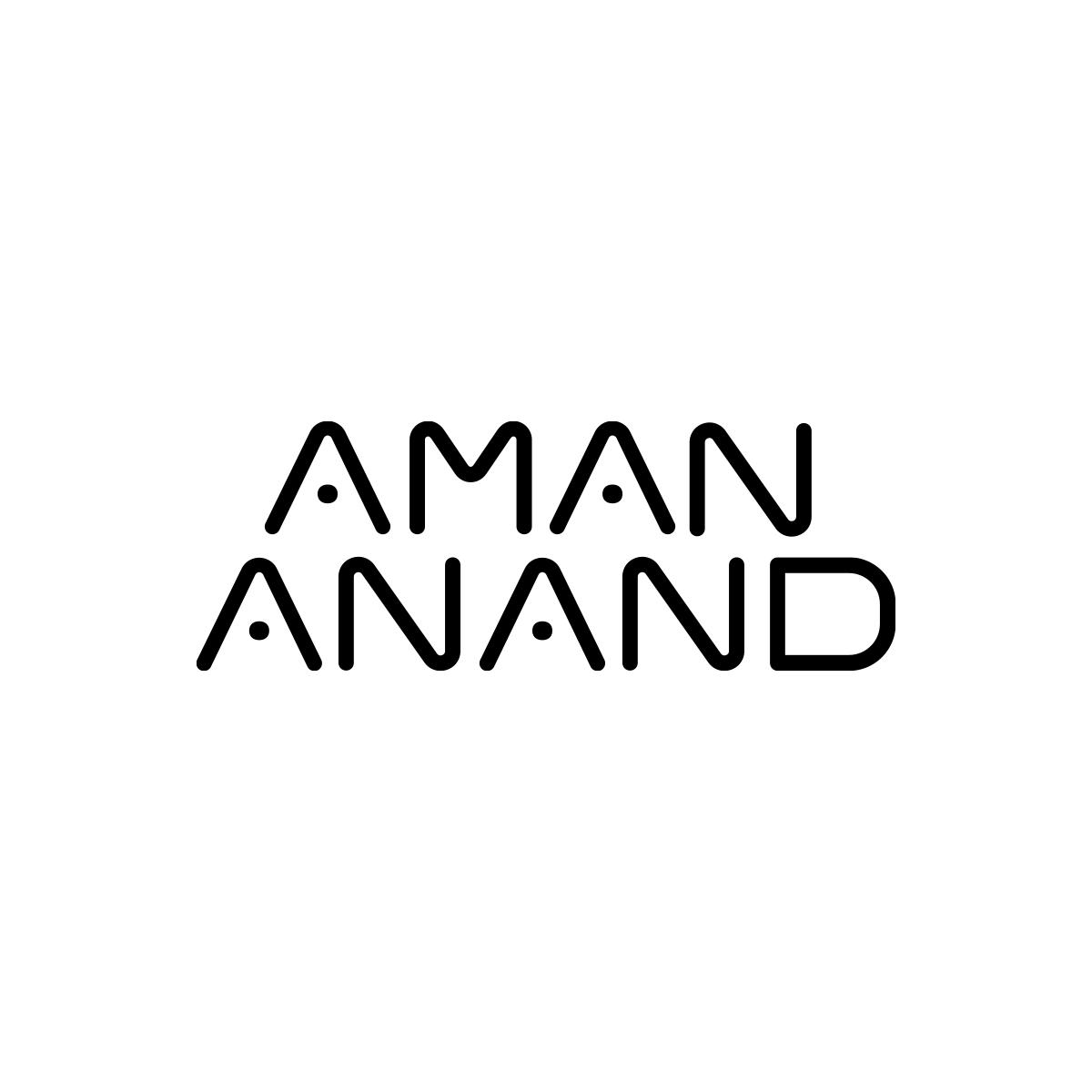 Logo Design For Aman Anand Dj Logo Design Logos Tech Company Logos