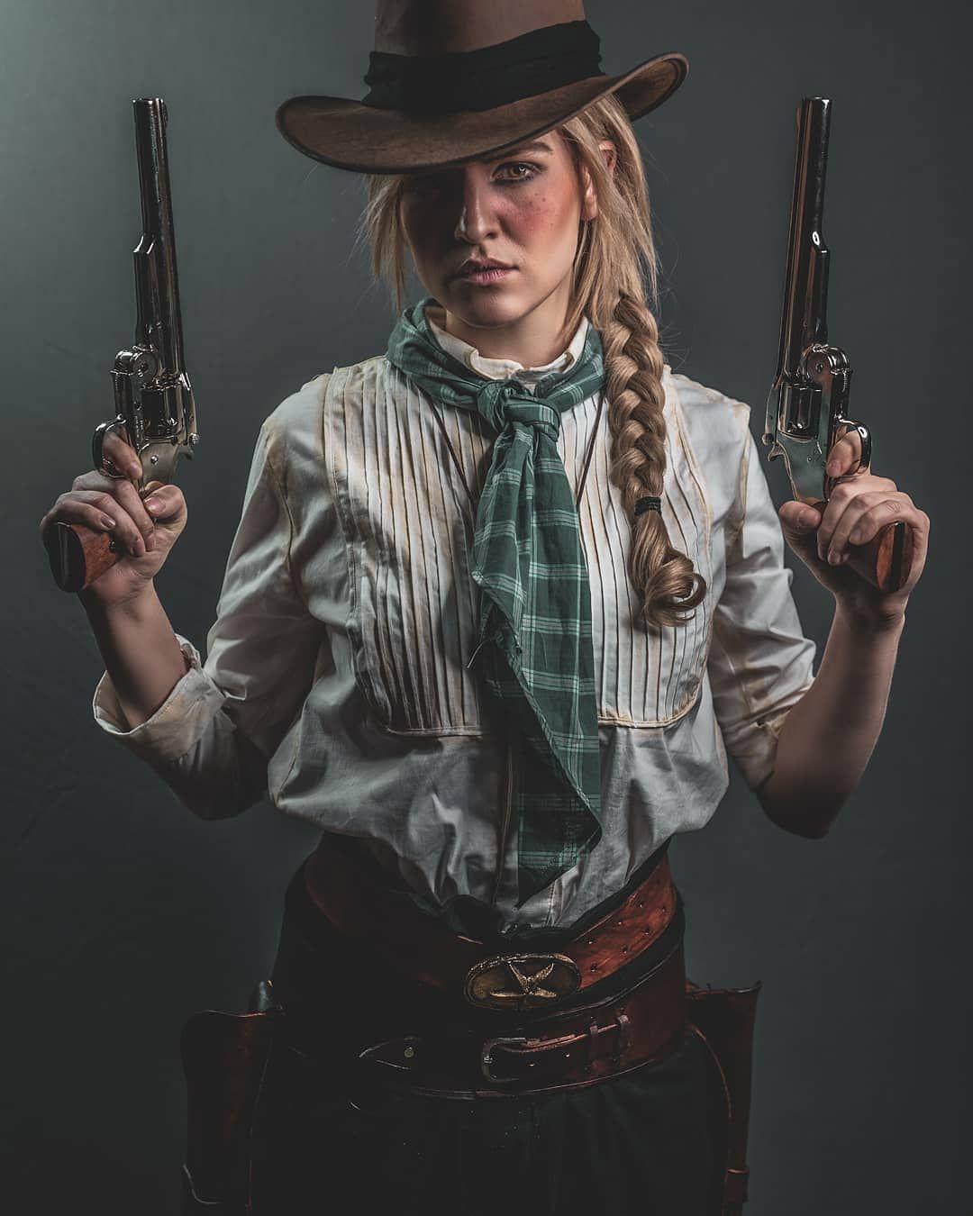 Sadie Adler cosplay (Red Dead Redemption 2) http://bit.ly