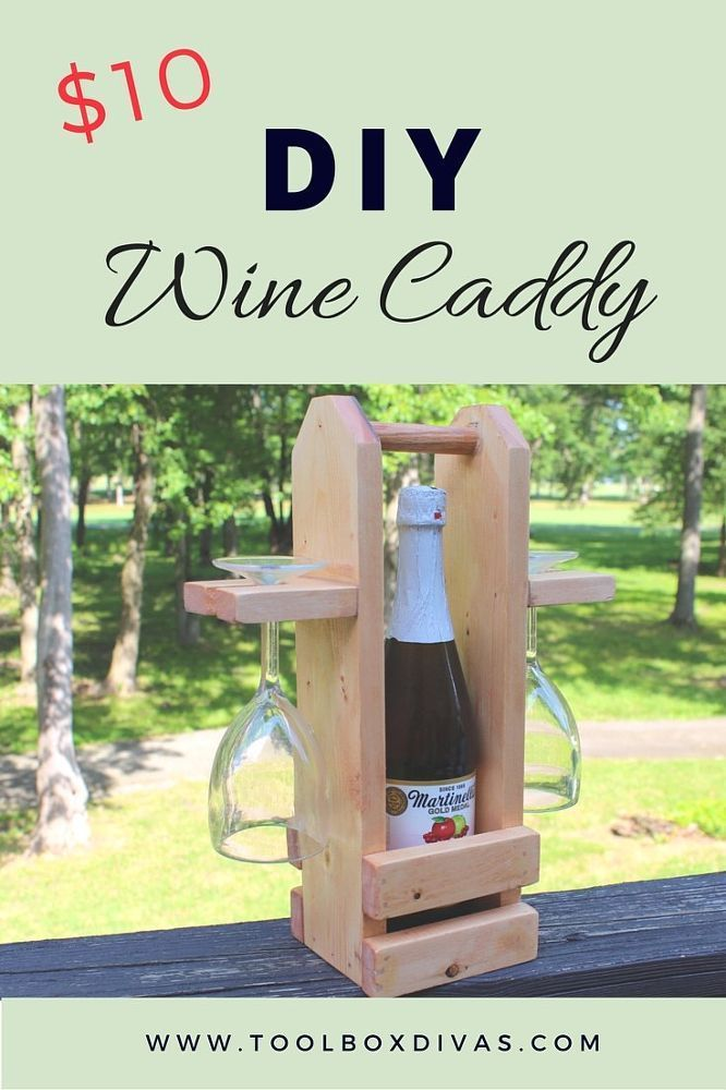 Build A Classy 10 Wine Caddy Woodworking Diy Woodworking