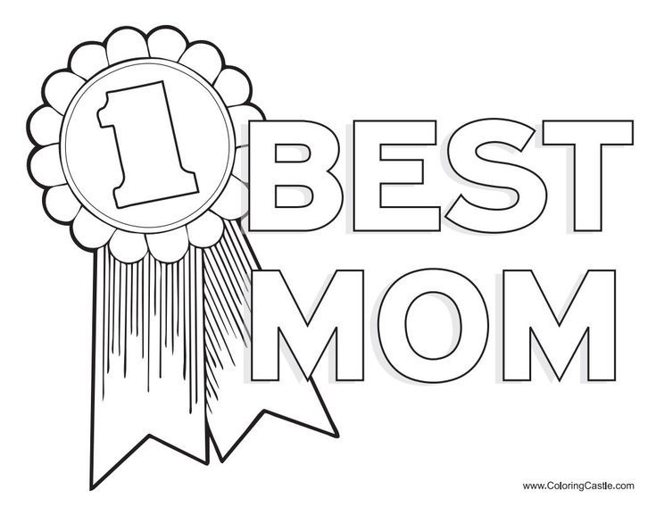 259 Free Mother\'s Day Coloring Pages for the Kids to Color   Pinterest