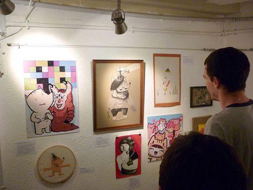 Homenaje a Cobi exhibition at Duduá.