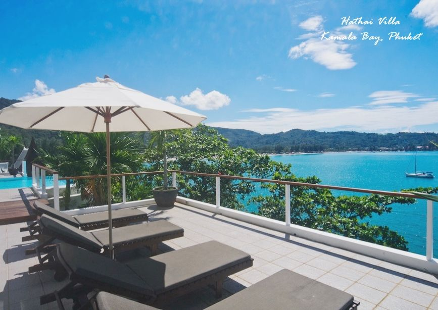 Hathai Villa (Kamala Bay, #Phuket) rejuvenate your mind, body and spirit while you pass the day poolside, taking in the views and sip on a cold drink served to you - pure #heaven...