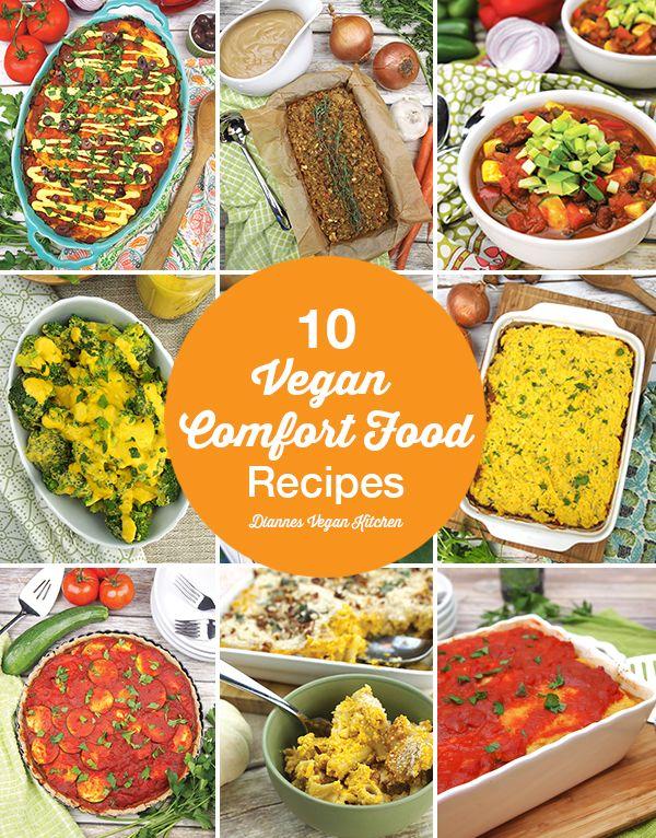 10 Vegan Comfort Food Recipes For Fall Veganilicious