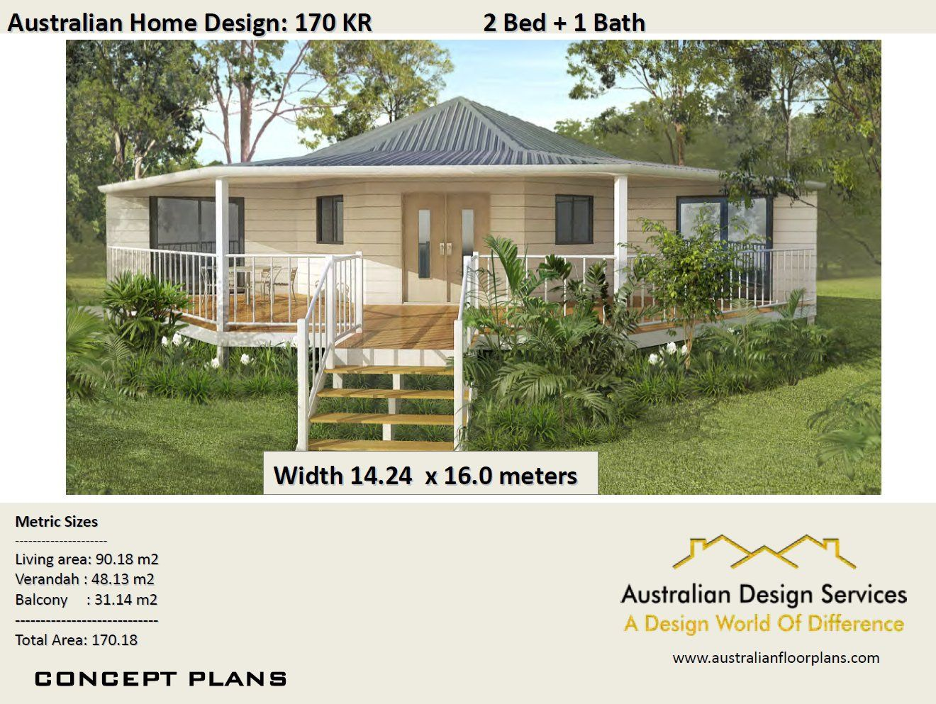 1830 Sq Feet Or 170 M2 2 Bedroom 2 Bed Granny Flat Small Etsy Small House House Design Small Room Design