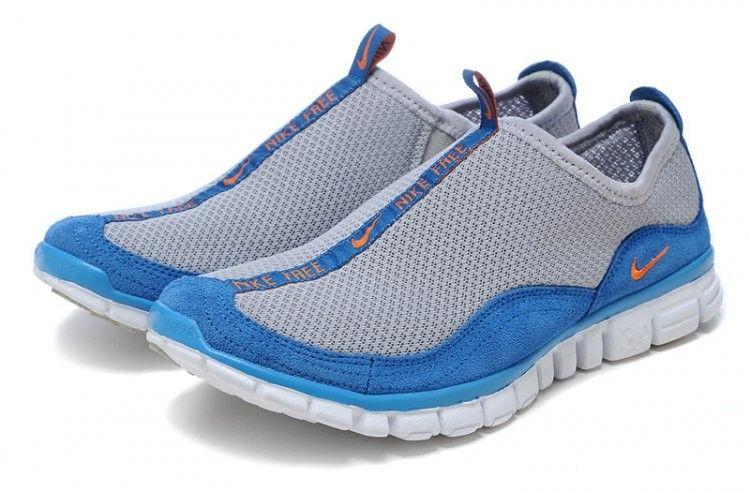 TTotir2006 Nike Free Hommes lac Grey-Blue Cross-Country, veteHommest nike pas cher