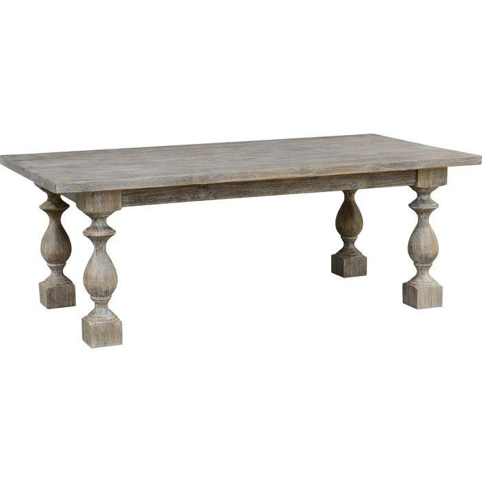Pamela Dining Table In Lime Wash   Joss U0026 Main