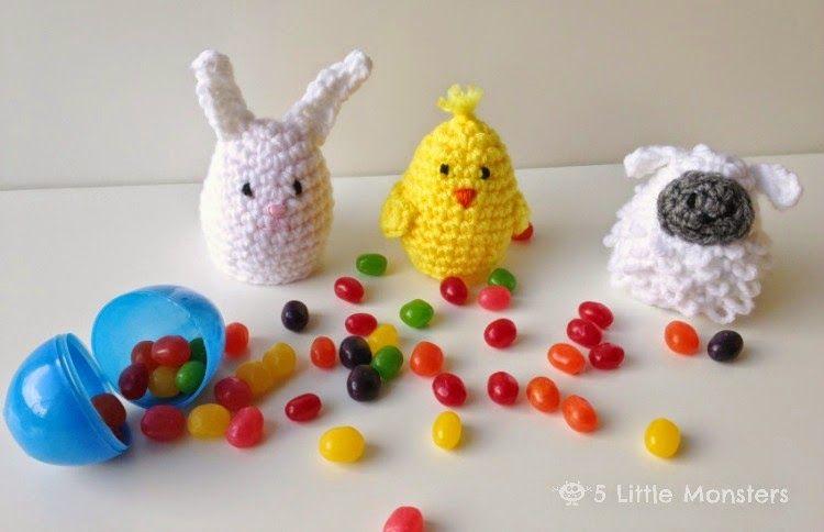 Crocheted Easter Egg Covers