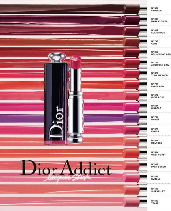 Dior Spring 2017 Addict Lacquer Stick Collection Beauty Makeup