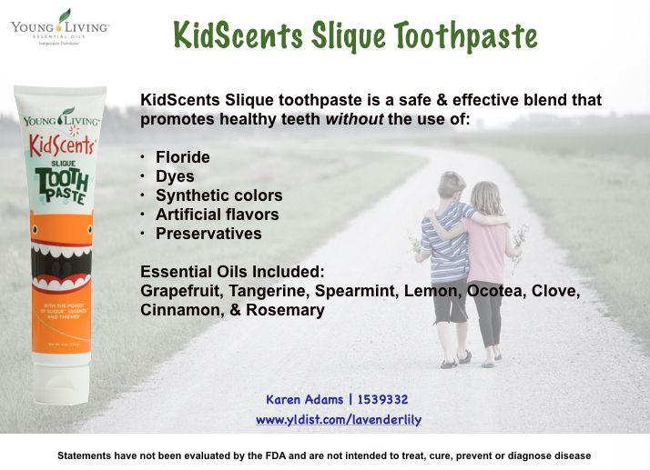 Yleo Kidscents Slique Toothpaste Kidscents Young