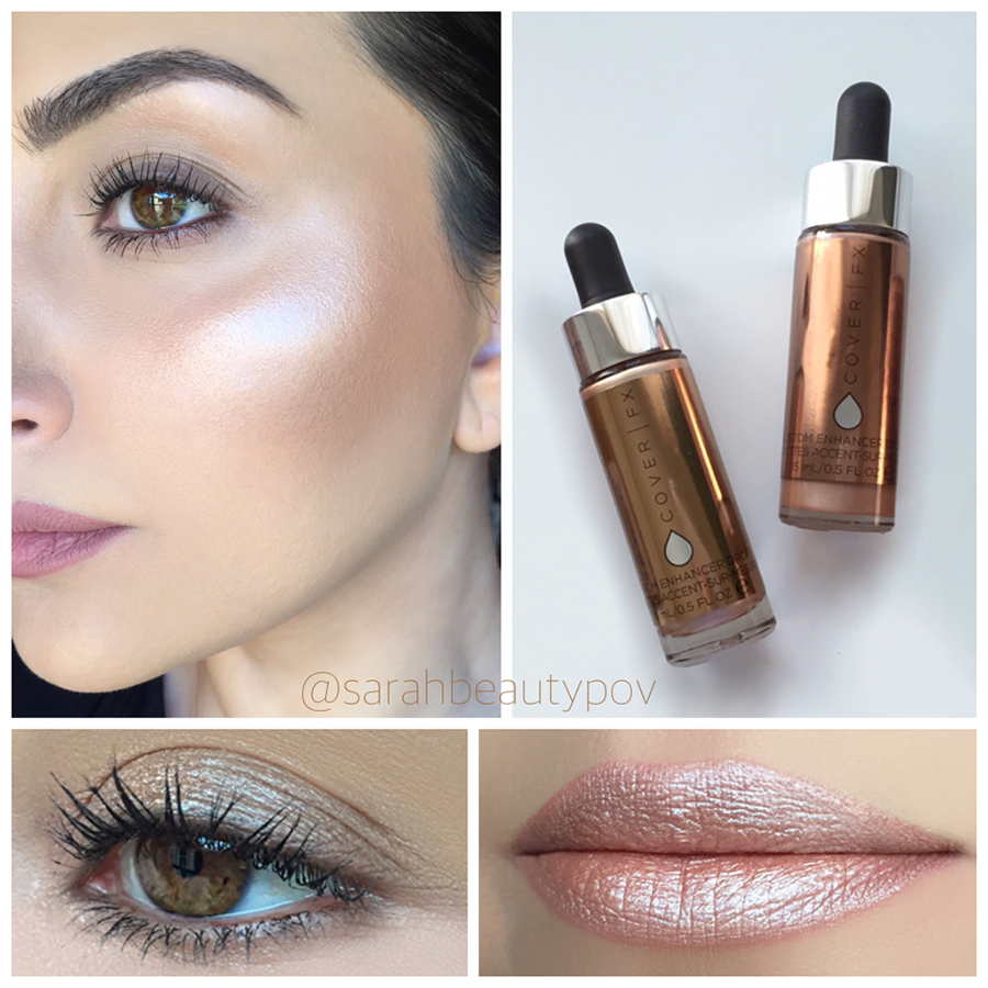 Cover FX Custom Enhancer Drops Review Makeup drop, Cover