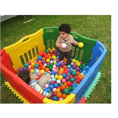 Small Ball Pit   Ball pit Ball pit for toddlers Kids ...