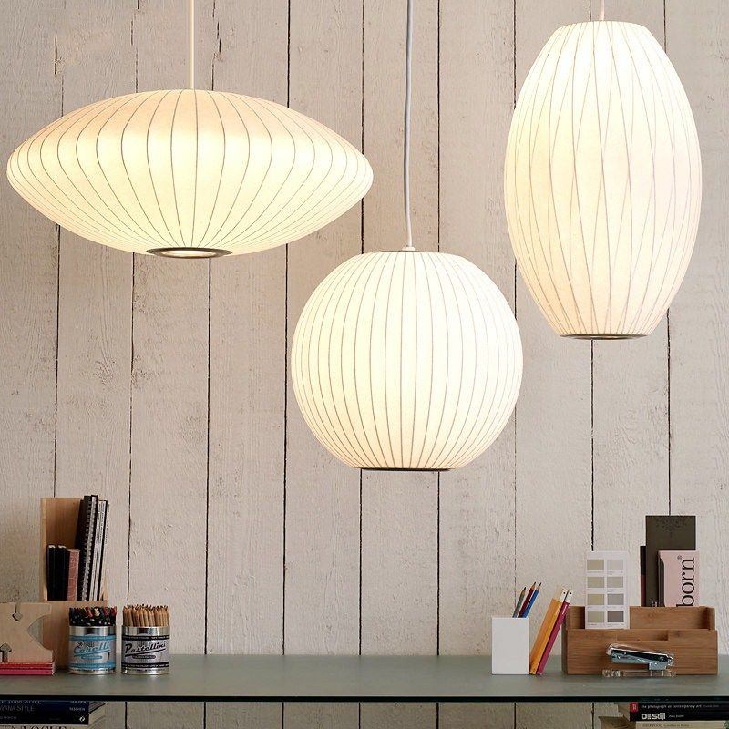Nelson Bubble Lamp Peer Hanglamp Wit 40 cm Replica E27