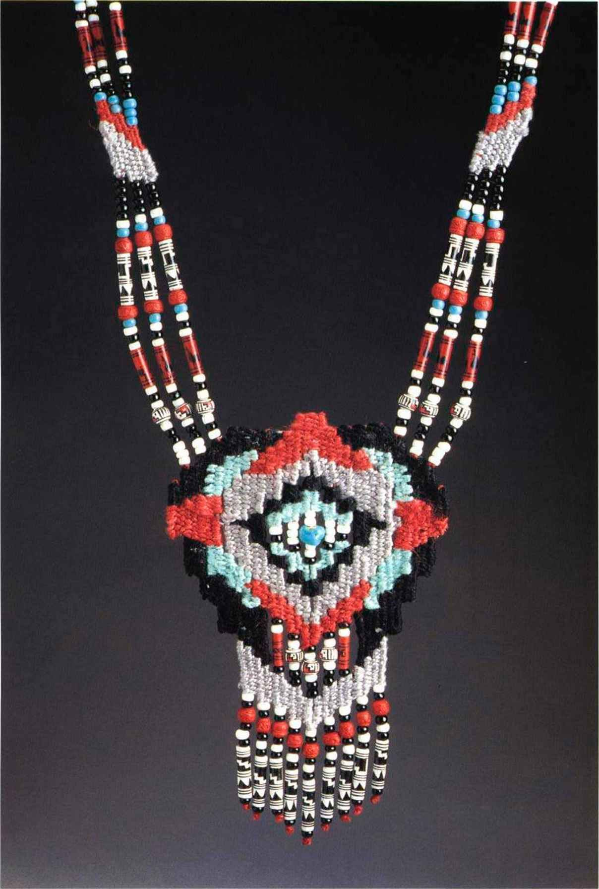 navajo bead designs. Navaho Spirit This Navajo-inspired Piece Requires Many, Many Beads. Instead Navajo Bead Designs V