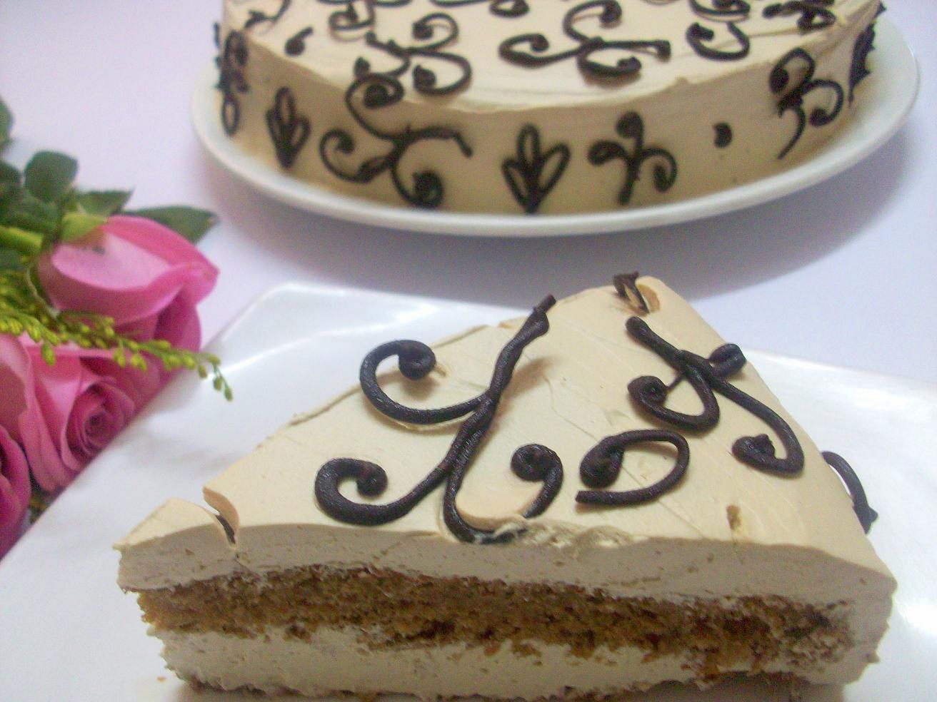 Coffee Cream Cake Cake recipes, Cream cake, Cake