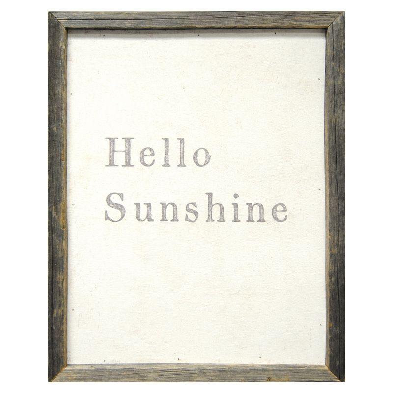 Sugarboo Designs Hello Sunshine Wall Art | Pure Home