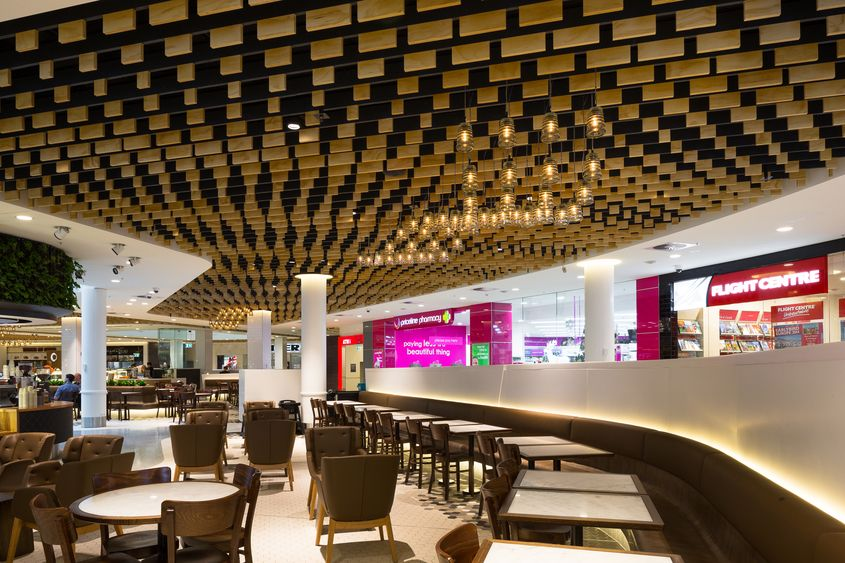 Canberra Centre - Food Court///Design Practice Cox Architecture in  association with MBBD