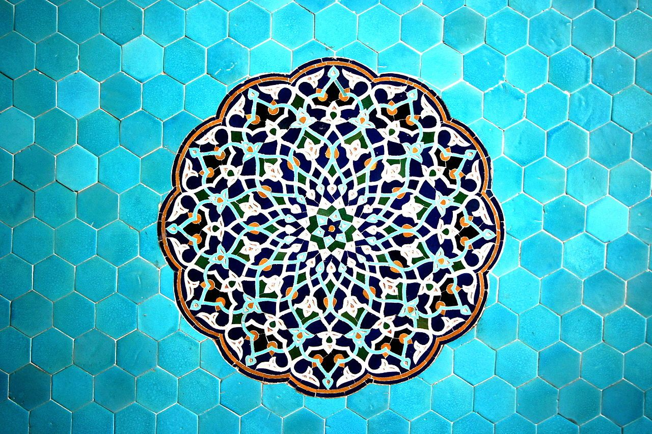 Islamic Geometric Patterns Islamic Art Islamic Tiles Iranian Art
